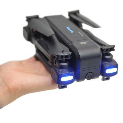 Hand holding Tactic Air Drone